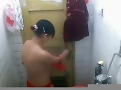Bathing, 18 19 Teens, Asian, Bath, Bathing, Bathroom