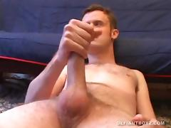 Amateur Nate Beating Off