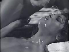 She enjoys a very hot hard fuck from a man
