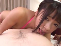 Japanese, Bikini, Blowjob, Couple, Cowgirl, Cute