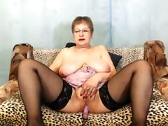 Fabulous Amateur clip with Stockings, BBW scenes