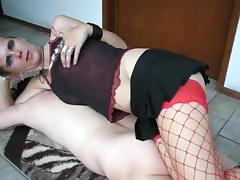 Best Homemade video with Femdom, Bondage scenes