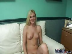 Tiffany is a horny blonde