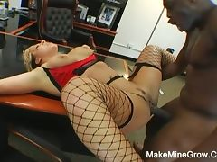 Erika staxxx pounded by black monster cock