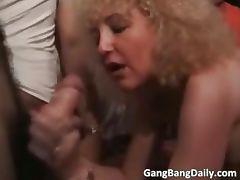 France gang bang scene with hot blonde part4