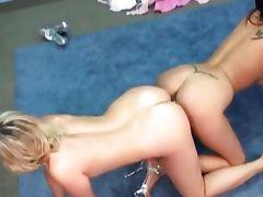 marvelous lesbian girls scissor