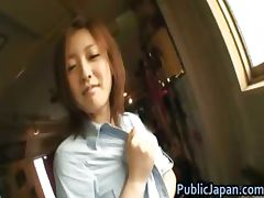 Ai Haneda Naughty Asian teen has public part5