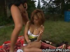Kane Hotaru Asian model enjoys outdoor part4