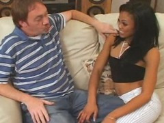 Angelina needed some cock so she called Dirty D Hell Dirty D calls hes crew of boys over