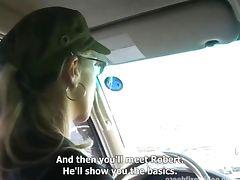 CZECH FIRST VIDEO BUSTY BRUNETTE MONIKA WOULD BE A PORNSTAR