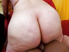 Big ass BBW Latina fucking black cock