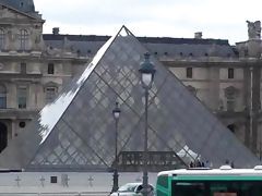Hot public sex threesome in Louvre Paris in broad daylight Part 2