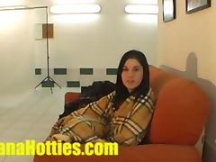 Nasty blow job by amateur teen at casting