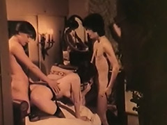 Old and Young Couple in Heat 1970 porn video