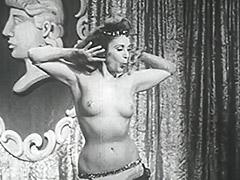 1950, Babe, Brunette, Classic, Fetish, Outdoor