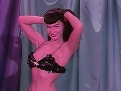 Bettie Stripping in Sparkling Clothes 1950 porn video