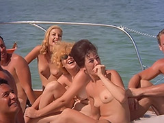 Naked Nudist Party Boat Ride 1960