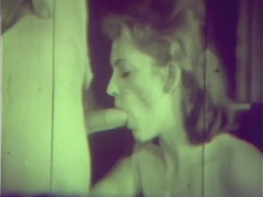 Couple Fucking Instead of Going to Church 1960 porn video