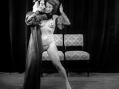 Sexy Girl Does a Puppet Dance 1950