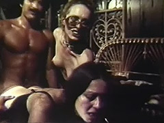 Guy Fucks 2 Latinas to Shoot Cum 1970