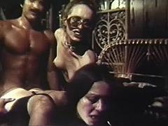Guy Fucks 2 Latinas to Shoot Cum 1970