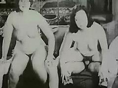 1920, BBW, Blowjob, Classic, Group, Mature