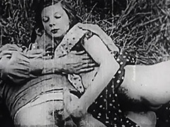 Hard Sex in Green Meadow 1930 porn video
