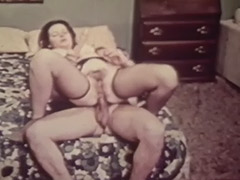 Cute Teen Talking to Her Lover 1960 porn video