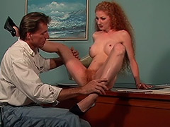 Deepthroat Pussy and Anal Fucking Action in this Hairy Cunt Redhead Woman Hardcore Movie