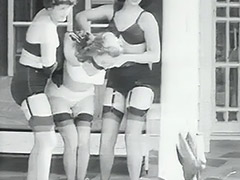 Kidnapped Girl and Her Perverted Abductors 1950 porn video