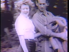 2 Couples have sex at a Picnic 1940 porn video
