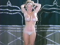 Busty Burlesque Girl Does Striptease 1960 porn video