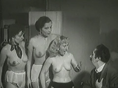 3 Mature Ladies get Naked in Office 1940 porn video
