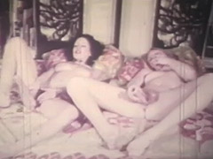 Two Girls Getting Orgasms the Lesbian Way 1970 porn video