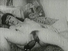 Alcohol Fucks Her Mind and Her Hole 1940 porn video