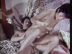 Little Asian Girl Swallows the Cock 1960 porn video