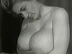Mature Blonde with Huge Big Boobs 1950 porn video