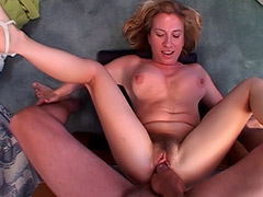 British Babe MILF's Massive Hairy Pussy is Blatantly Exploited by a Fuck Hungry Guy porn video