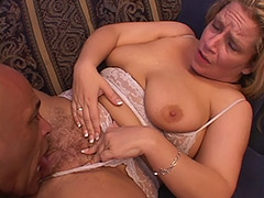 Lusty Fat Babe with a Hairy Bush Sucks on Cock and gets a Great Anal Sex in Exchange porn video