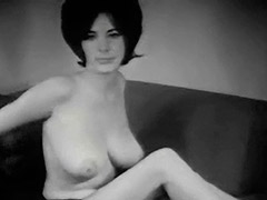 Young Busty Girl Dishes out Her Big Boobs 1960 porn video
