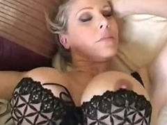 Grandma, Aged, Bed, Bedroom, Blowjob, Boobs