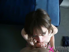 Darina sucking dick