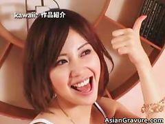 Beautiful asian girls having intense part5