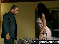Cute daughter humiliation