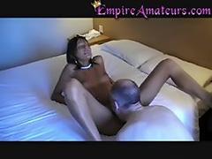 Black Ebony Hooker Fucked In Hotel 1