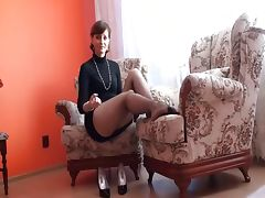 Stepmom, Aged, Cougar, Mature, Stockings, Mother