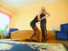 two hot blonde lesbian fuck