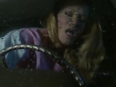 Hot Hardcore Action in the Car with Blonde Beauty Jessica Drake