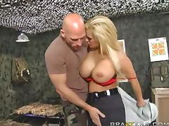 Police, Army, Ass, Big Tits, Blowjob, Cop