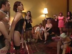 Hot Bondage Fun With Horny Babes And Sex Toys